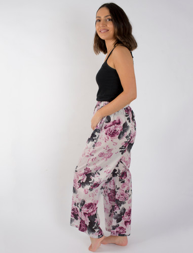 Cotton Pants - Garden Bloom  XL