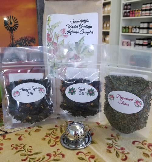 Serendipity's Winter Greetings Infusion Sampler