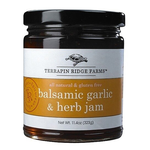 Balsamic Garlic and Herb Jam