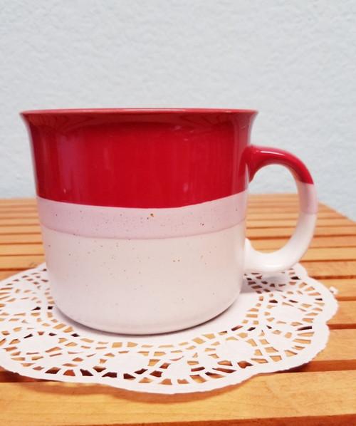 Red Ombre Mega-Mug