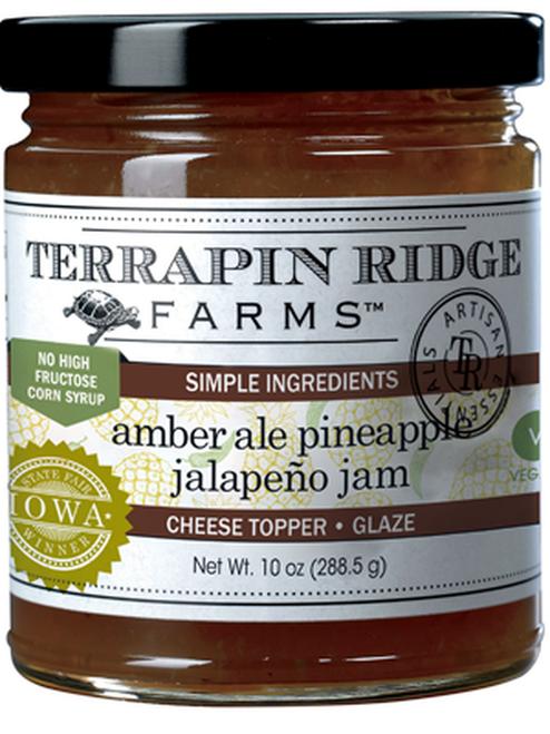 Amber Ale Pineapple Jalapeno Jam