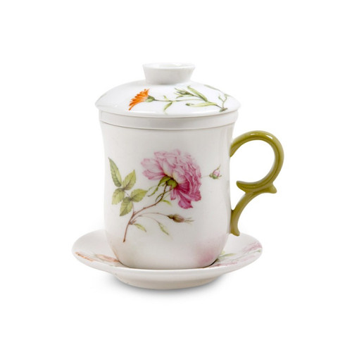 Dahlia 4-piece Tea For Me Set