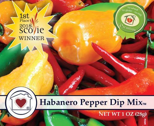 CHC Habanero Pepper Dip Mix