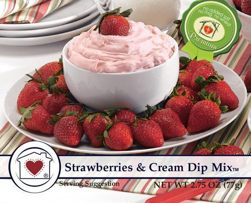 CHC Strawberries and Cream Dip Mix