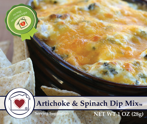 CHC Artichoke and Spinach Dip Mix