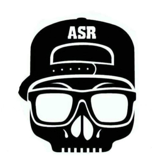 ASR Sticker Black