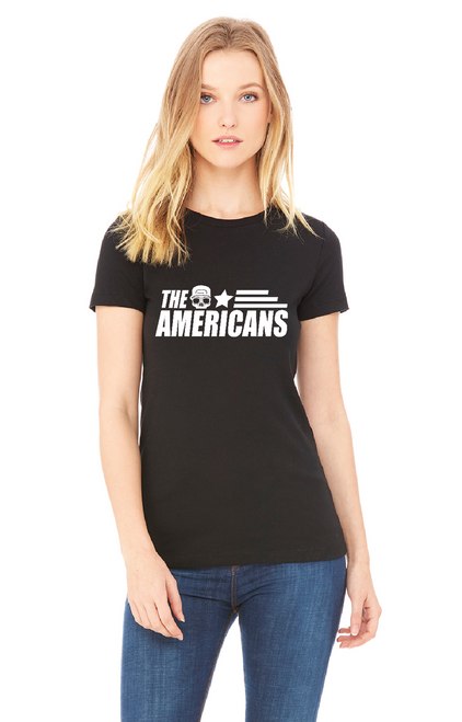 The Americans Slim Fit Womens Tee