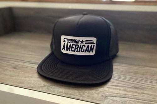 Stubborn American Patch Hat FLAT Bill