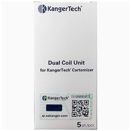 Kanger Dual Coil (White Box) (5 Pack) Thumbnail Sized