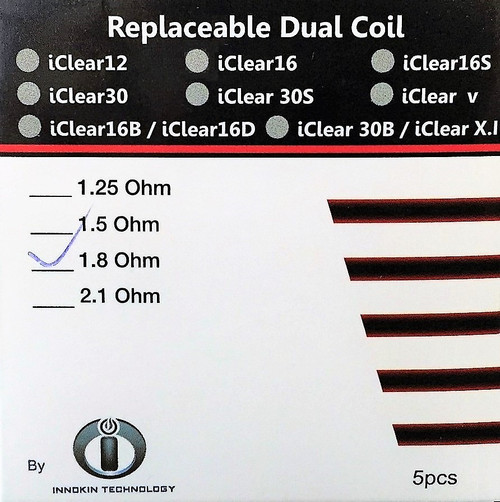Coil iClear 16 (5 Pack)