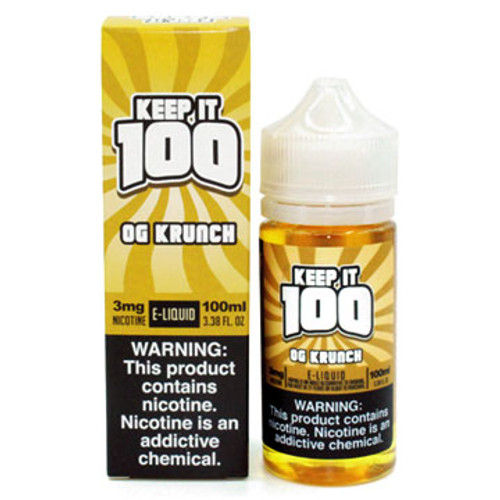 Keep it 100 - Krunchy (Squares) (100ml) Thumbnail Sized