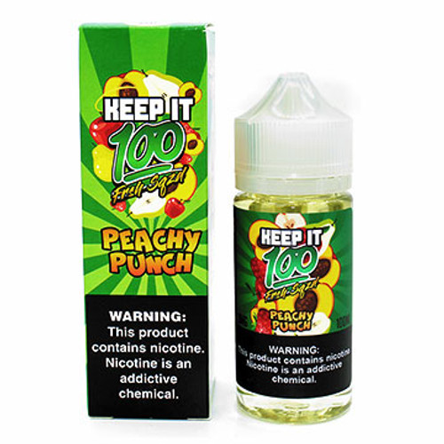 Keep it 100 - Peachy Punch (100 ml) Thumbnail Sized