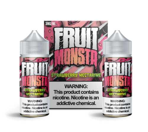 Strawberry Nectarine By Fruit Monsta (2 X 100 ml)