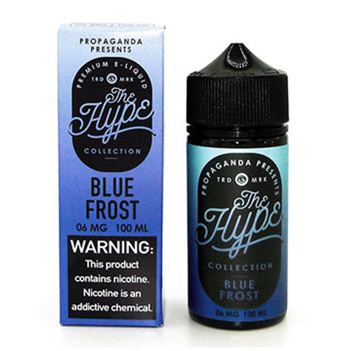 Blue Frost (Blue Slushee)(100ml) The Hype Collection Thumbnail Sized