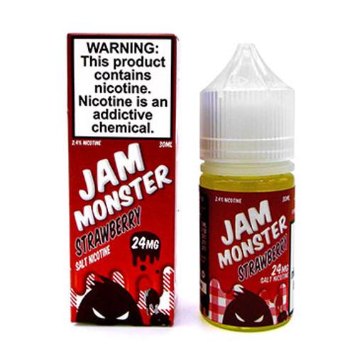 Strawberry Nic Salt by Jam Monster Thumbnail Sized