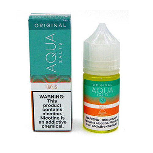Oasis (Aqua) 30 ml Nic Salt by Marina Vape Thumbnail Sized