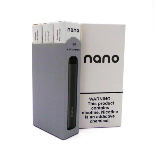 Nano Pre-filled Disposable Device (4.9% Nic) 3 Pack