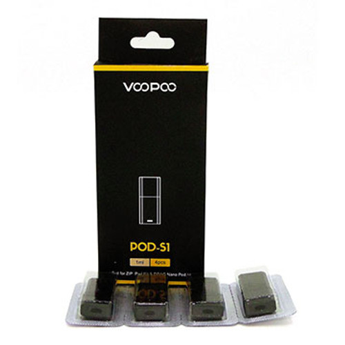 Pod S1 (1 ml) (Drag Nano) 4 pack by VooPoo Thumbnail Sized