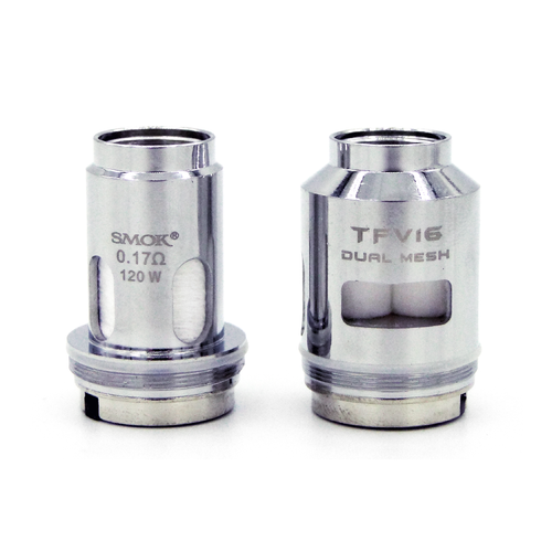 TFV16 Coils by SMOK (3 Pack) 0.17 ohm and Dual Mesh