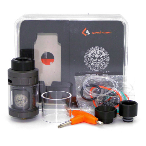 Zeus  RTA  (Geek Vape) Package and Contents