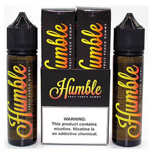 Twin Pack Fruit Punch Gummy ( 2 X 60ml ) by Humble Thumbnail Sized