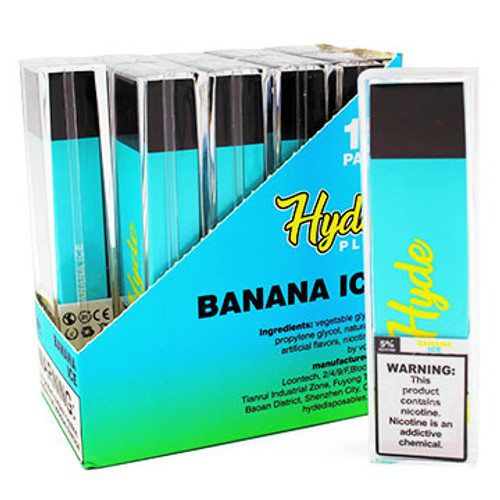 Hyde Plus Disposable Device (5%) (1300 Puffs) Singles Thumbnail Sized
