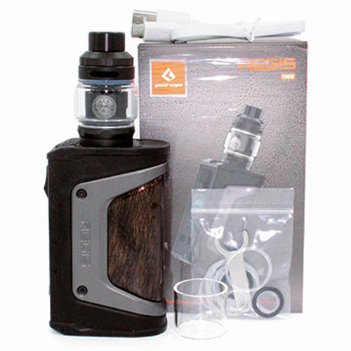 Aegis Legend Kit With Zeus Tank (200W TC) Geek Vape Black Gunmetal Thumbnail Sized
