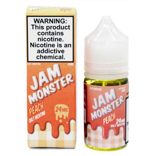 Peach (30ml) Jam Monster Salt Thumbnail Sized