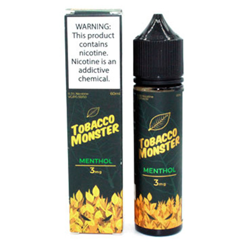 Menthol Tobacco (60ml) Jam Monster Thumbnail Sized