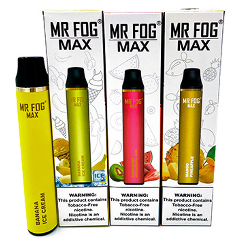 Mr. Fog Max Disposable Device Singles (900 Puffs) Thumbnail Sized