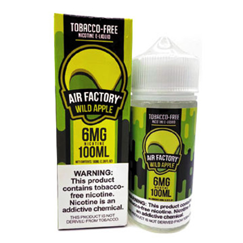 Wild Apple (Tobacco Free)(100 ml) by Air Factory Thumbnail Sized