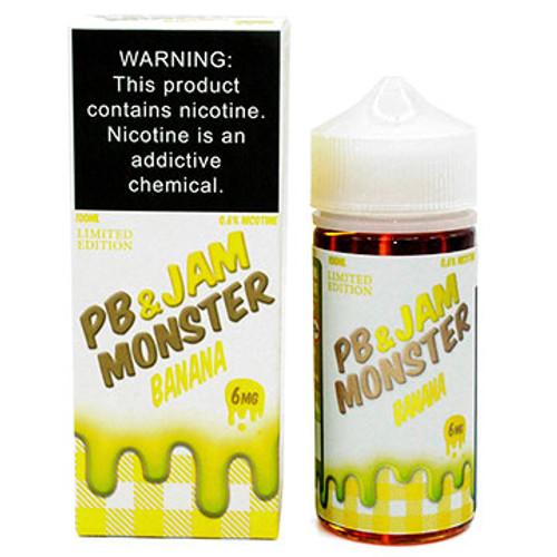 PB & Jam Banana (100ml) Jam Monster Thumbnail Sized