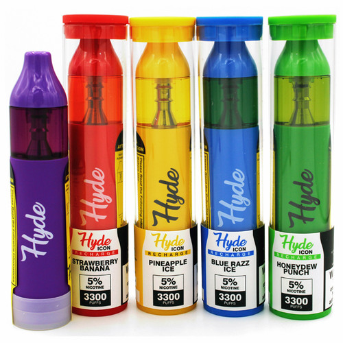 Hyde Icon Recharge (3300 Puff) Disposable Device Singles