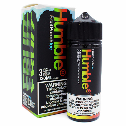 Fruit Punch Ice (Tobacco Free) (120ml) by Humble