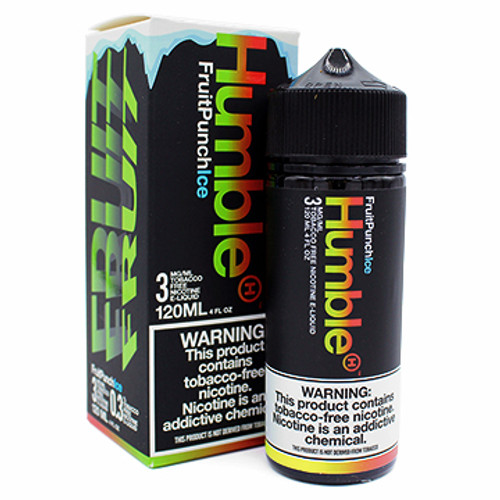 Fruit Punch Ice (Tobacco Free) (120ml) by Humble Thumbnail Sized