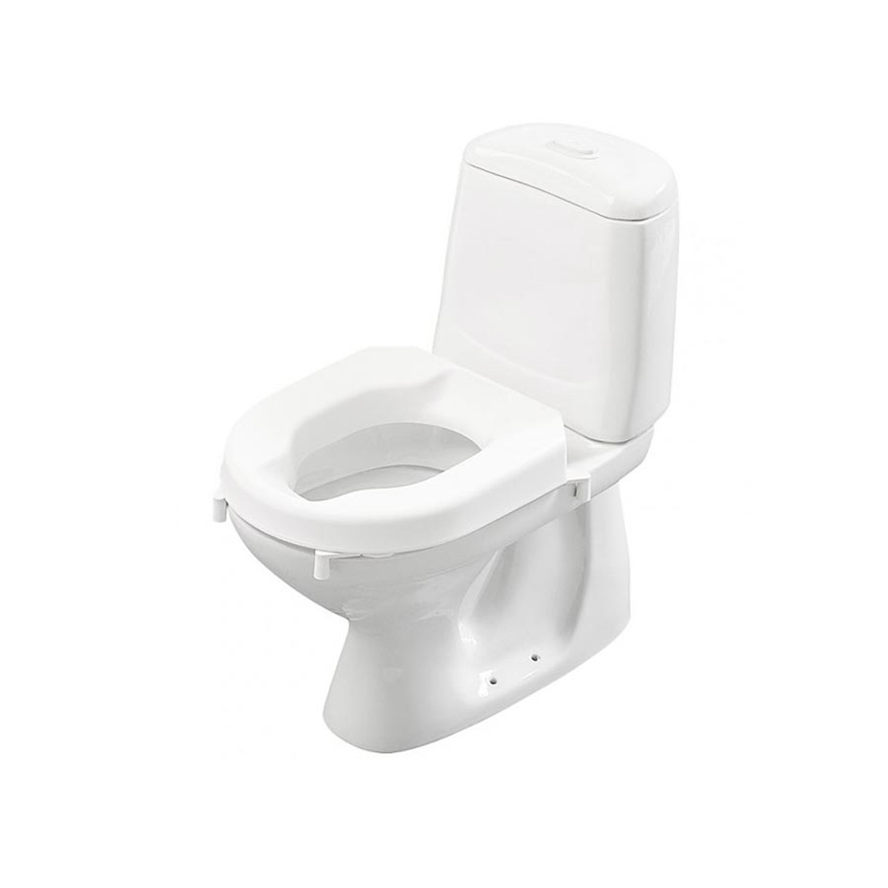 Super Hi Loo Toilet Seat Riser With Brackets By Etac Ncnpc Chair Design For Home Ncnpcorg