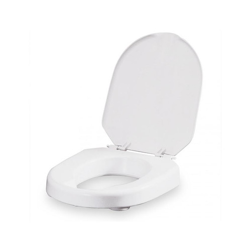 Etac Hi-Loo Toilet Seat Riser with Lid and Brackets