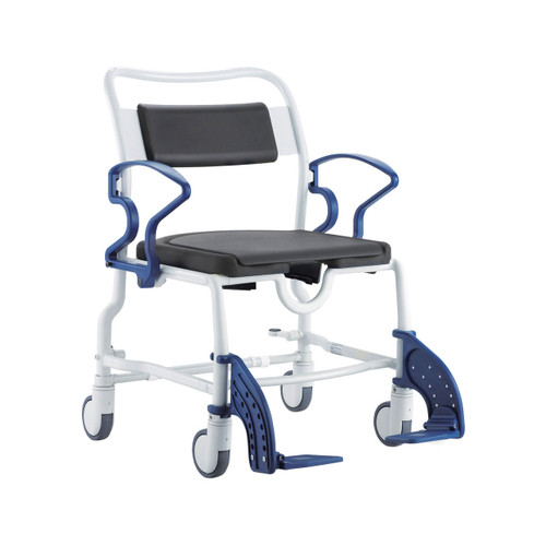 Rebotec Dallas Wide Bariatric Shower Commode Chair Image