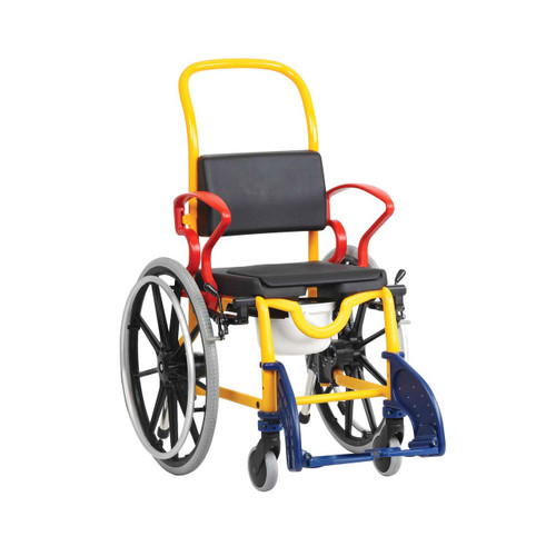 Robotc Augsburg 24 – Self Propelled Mobile Shower Commode Wheelchair For Children