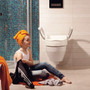 Cloo Toilet Seat Riser with Armrests