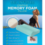 Gel Infused Contour Memory Foam Pillow Pack