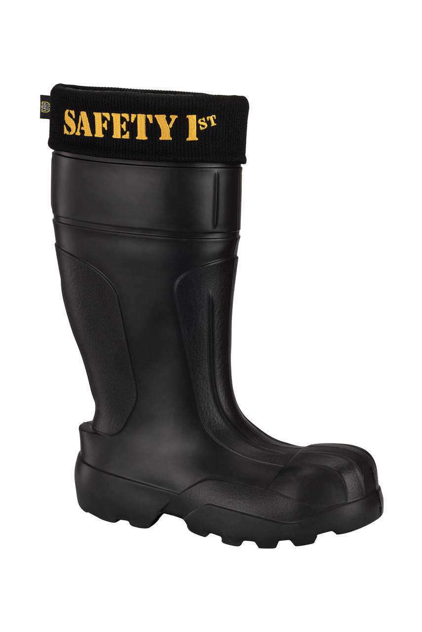 finest selection eacff 846f3 Ultralight Leon Men's Safety & Work Boots, Black | SAFE1 | SAFE