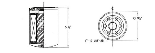 Cim-Tek| Bio-Tek Multi-Fuel Spin-On Monitor Filter, Model
