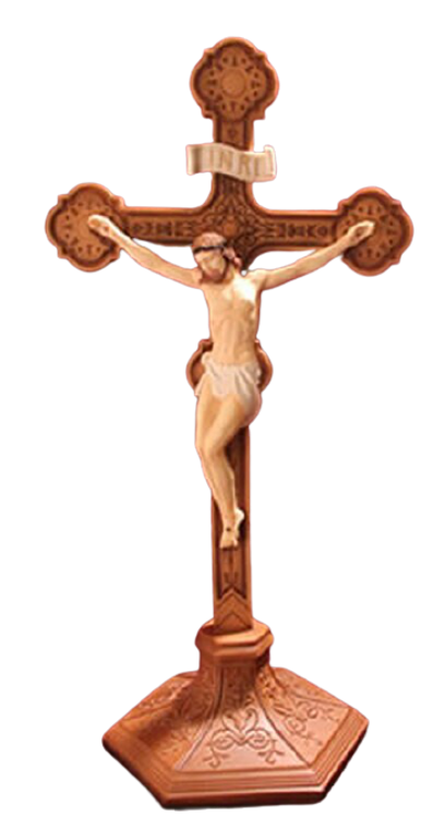 """22"""" Standing Crucifix (Color)"""