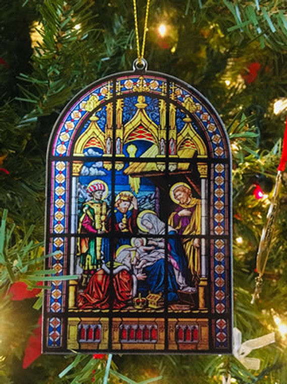 Shrine Nativity Ornament