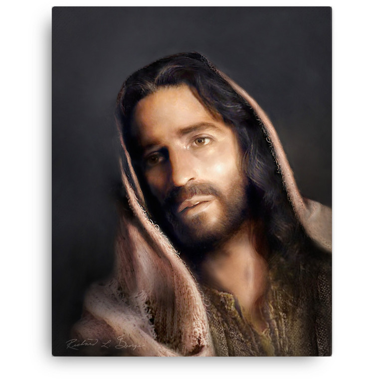 Portrait of Christ Gallery Wrapped Canvas