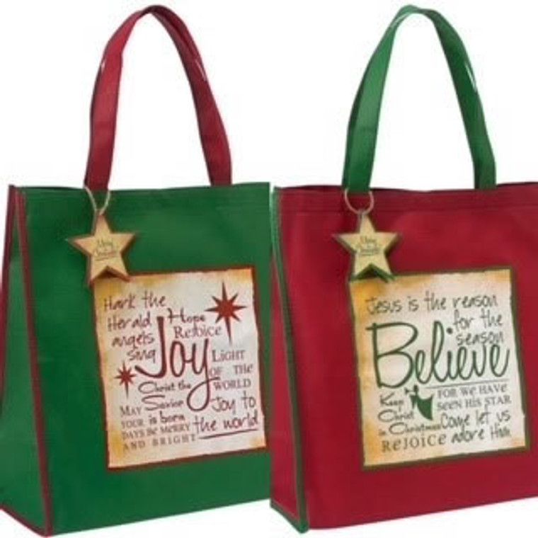 Christmas Tote Bag 14x14