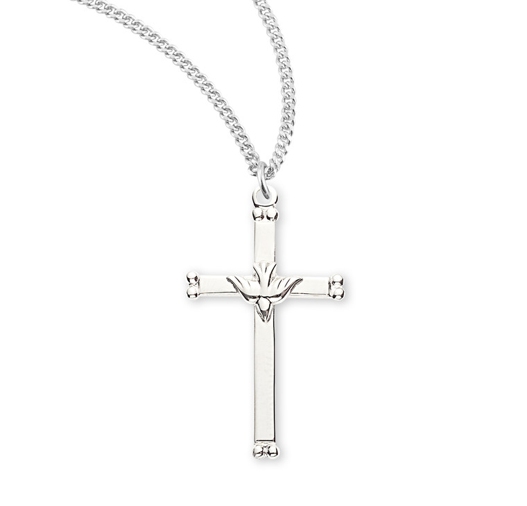 Sterling Silver Holy Spirit Crucifix