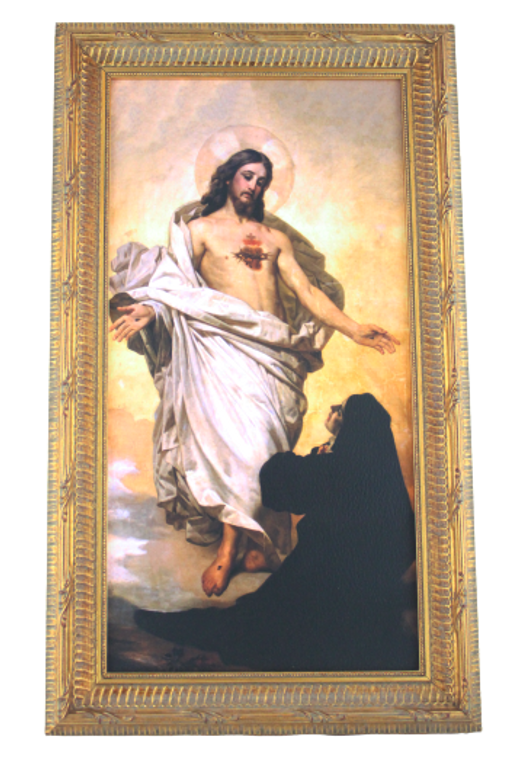 Sacred Heart Vision to St. Margaret Mary ~ Canvas 8x16