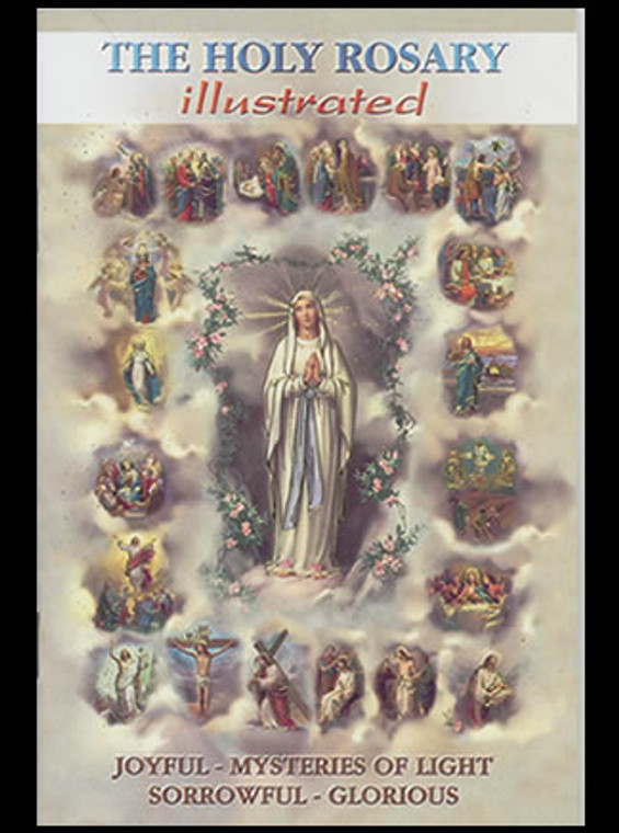 Illustrated Rosary Booklet